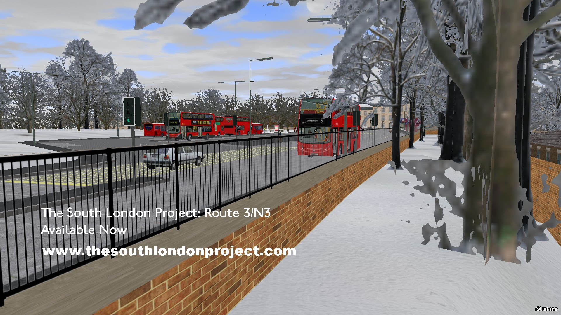 Hof for The South London Project: Route 3/N3 v2 8 1 | OMSI 2